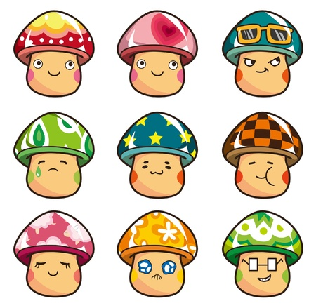 cartoon Mushrooms icon
