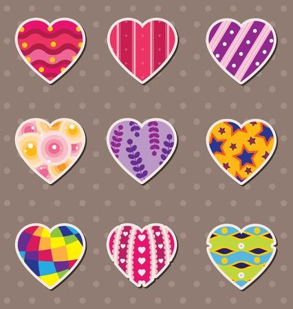 heart love stickers