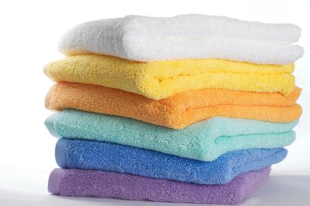 Foto de Colorful towels - Imagen libre de derechos