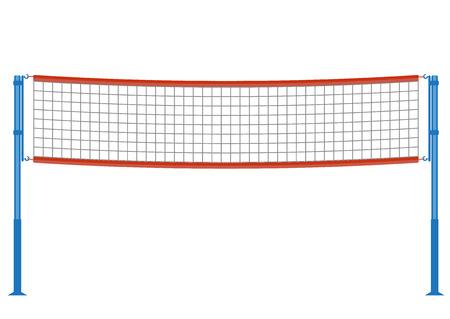 Ilustración de volleyball net illustration. - Imagen libre de derechos