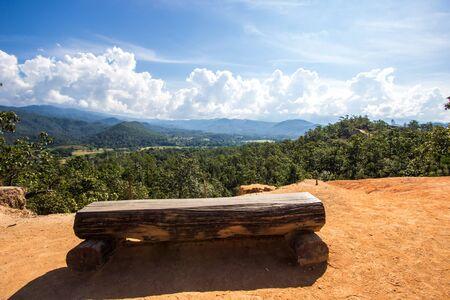 Foto für Beautiful steep cliffs,deep valleys and pine forests at Kong Lan (Pai Canyon) in Pai,Mae Hong Son province,Northern Thailand - Lizenzfreies Bild