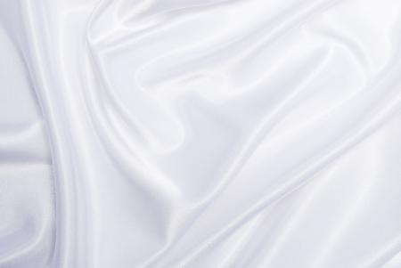 smooth elegant white silk background