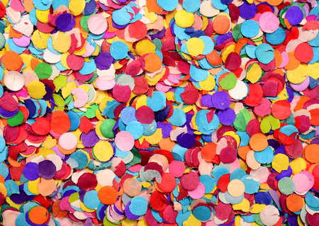 Photo for festive background of confetti - Royalty Free Image