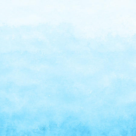 Photo for bright blue watercolor texture background, hand painted - Royalty Free Image
