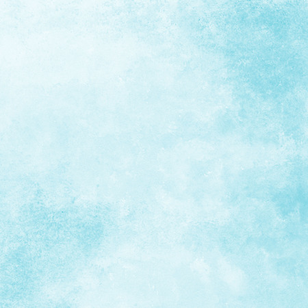 Photo for soft blue watercolor texture background, hand painted - Royalty Free Image