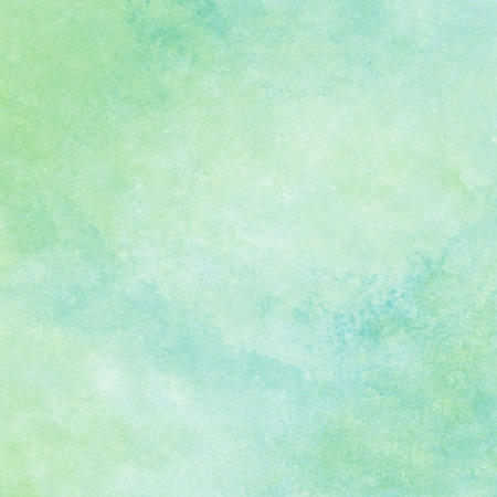 Photo for green and blue watercolor texture background, hand painted - Royalty Free Image