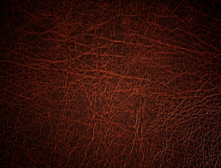 Red leather surface, background