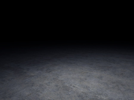 Foto de concrete floor with dark background - Imagen libre de derechos