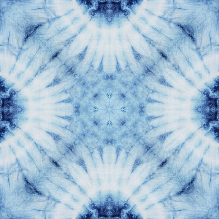 Photo for Abstract background pattern made from tie dye fabric, endless pattern for wallpaper. - Royalty Free Image