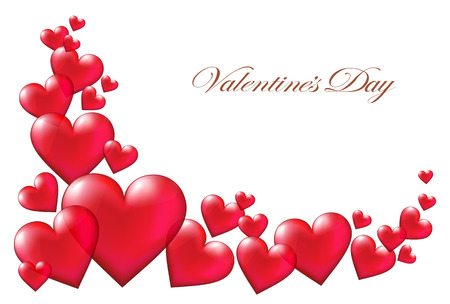 Illustration pour Valentine's day background - image libre de droit