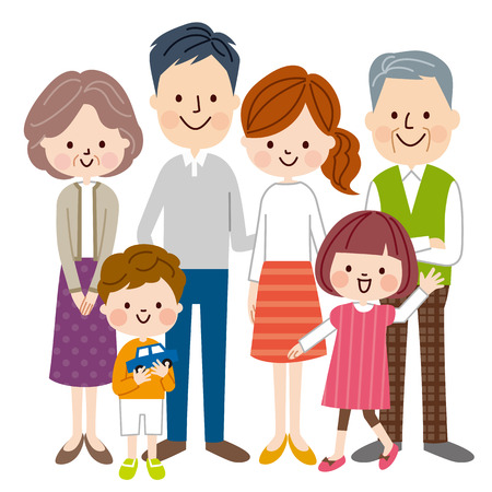Illustration for Family - Royalty Free Image