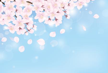 Ilustración de Cherry blossom - Imagen libre de derechos