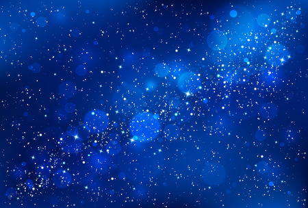 Illustration pour Night sky background - image libre de droit
