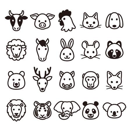 Foto de Animal icons - Imagen libre de derechos