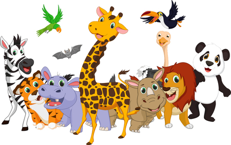 cartoon wild animal