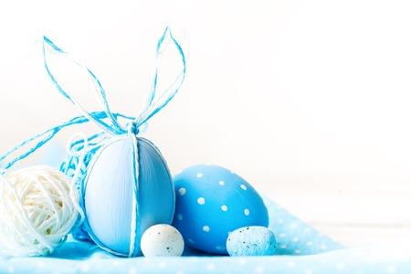 Foto de Happy Easter. Congratulatory easter background. - Imagen libre de derechos