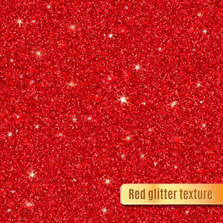 Illustration for Red glitter texture. - Royalty Free Image