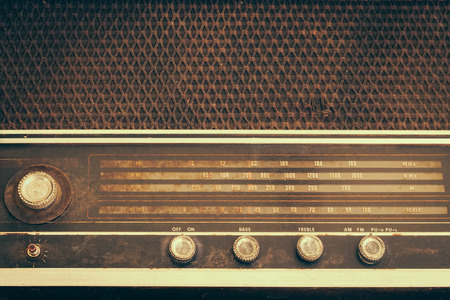 Photo pour Vintage fashioned radio - image libre de droit