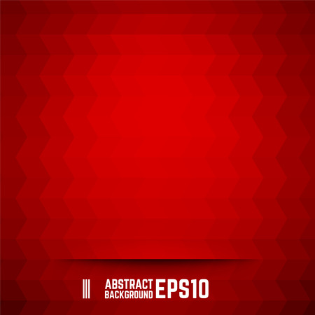 Illustration pour Red abstract rhombus background. Vector illustration. - image libre de droit