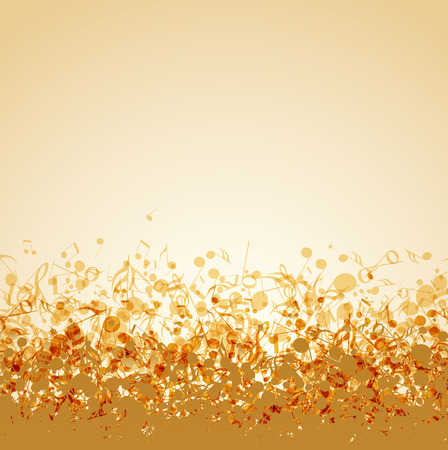 Photo for Vector illustration of an abstract music background - Royalty Free Image