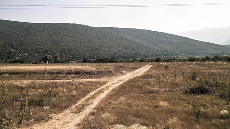 Photo pour Offroad in Macedonia, Prespa Lake and Galicica National Park Region, travel concept. - image libre de droit