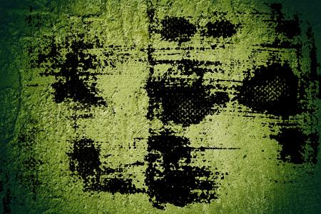 Foto de Grunge rough texture or stone surface, cement background, cracked stucco wall. - Imagen libre de derechos