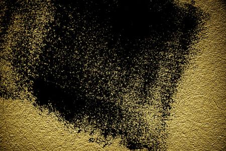 Foto de Grunge Rough concrete neutral ultra yellow texture, stone surface, cement background. - Imagen libre de derechos