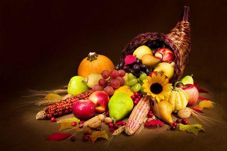 Photo for Autumn Cornucopia - Royalty Free Image