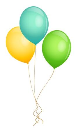 Illustration pour Balloons Vector illustration - image libre de droit