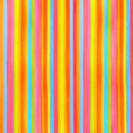 Illustration for Colorful striped stripes pattern background. Vector watercolor backdrop with rainbow texture for any modern graphic design illustration. Red. green, yellow, orange, blue colors lines - Royalty Free Image