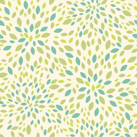 Illustration for Leaf texture seamless pattern background - Royalty Free Image