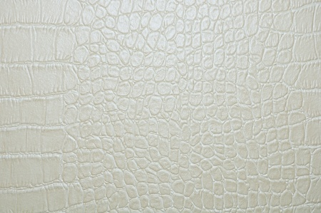 grey faux crocodile skin texture background.