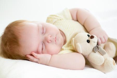 Photo for newborn baby sleeping - Royalty Free Image