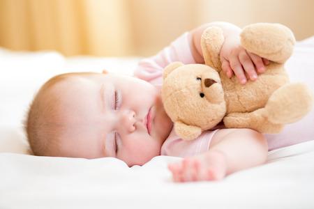 Photo pour infant baby sleeping - image libre de droit