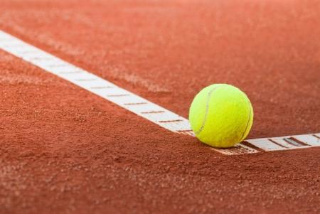 tennis ball abstract