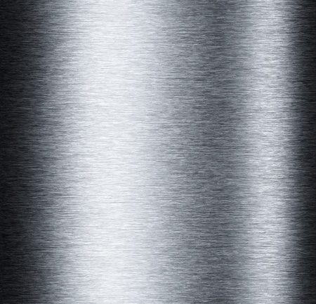 Aluminum metal background with reflections useful for background
