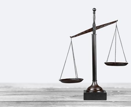 Photo pour Scales of Justice, Weight Scale, Balance. - image libre de droit