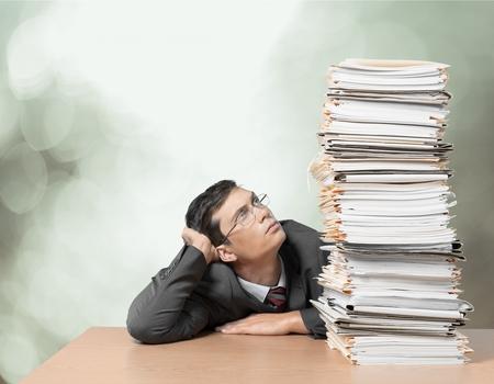 Photo pour Document, Stack, Paperwork. - image libre de droit