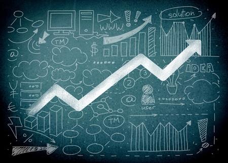 Foto de Market, leadership, statistics. - Imagen libre de derechos