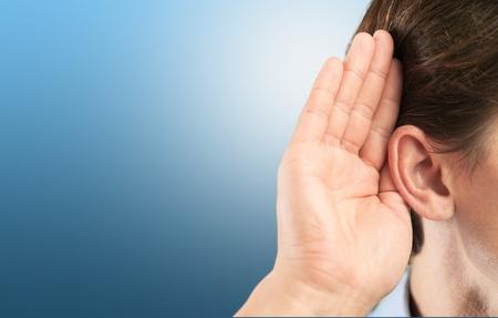 Foto de Listen, ear, hear. - Imagen libre de derechos