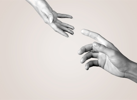Photo for Human Hand, Assistance, A Helping Hand. - Royalty Free Image