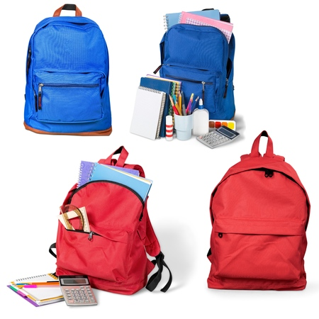 Photo for Backpack, bag, school. - Royalty Free Image
