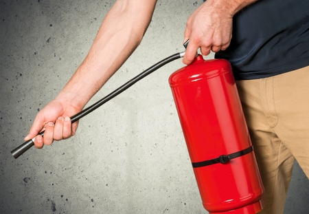 Foto de Fire Extinguisher, Safety, Training. - Imagen libre de derechos