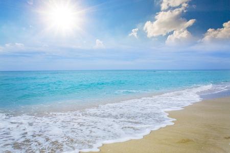 Photo pour Beach, Sea, Australia. - image libre de droit