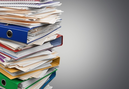 Photo for Stack, Paperwork, Paper. - Royalty Free Image