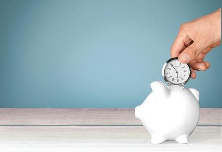 Photo pour Time, Savings, Time is Money. - image libre de droit