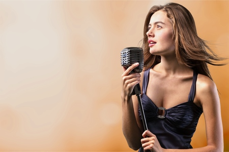 Photo for Singer, stage, talent. - Royalty Free Image