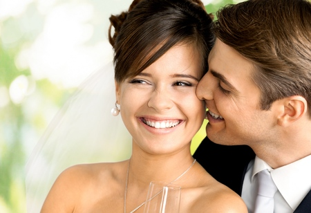 Photo pour Wedding, Bride, Couple. - image libre de droit