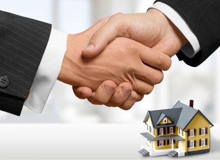Photo pour Realtor, loan, offer. - image libre de droit