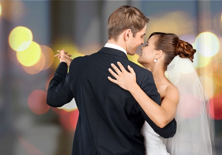 Photo pour Wedding, Dancing, Bride. - image libre de droit